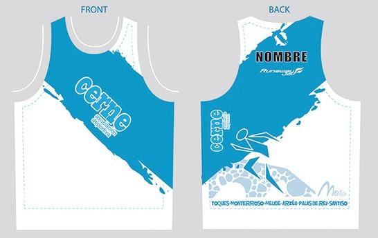 diseño e impresión de camisetas para club de atletismo